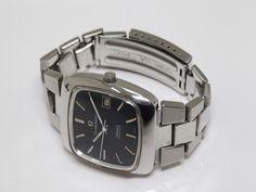 可動品【OMEGA/オメガ】コンステレーション 自動巻き スイス製 デイト 黒文字盤 スクエア メンズ腕時計 イ183の2番目の画像