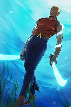 Aqualad by riyancyy777 on deviantART