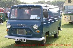 Morris J4 Van - Didn't they have character back then?? :-)