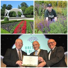 Antrim has received a hugely prestigious award at the 2015 Royal Horticultural Society Britain in Bloom Awards.