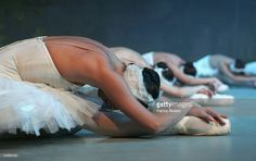 Corps de Ballet Ballerinas perform during a photo call for the Russian National Ballet Theatre at the Royal Theatre on September 6, 2005 in Sydney, Australia. The RNBT, formed in 2001, are on a two-month tour in Australia and will perform classics like 'Romeo and Juliet,' 'Swan Lake,' 'Sleeping Beauty' and 'The Nutcracker.' Australians will be the first in the world to see the RNBT's new production of 'Romeo and Juliet,' featuring a nude scene between the pair of star-crossed lovers.