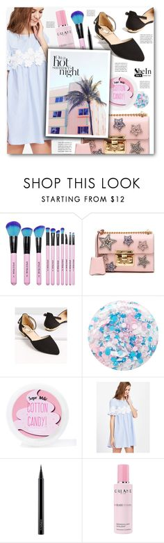 """shein"" by tux-vij on Polyvore featuring Spectrum, Gucci, Nails Inc., Sugar Milk Co, MAC Cosmetics and Orlane"