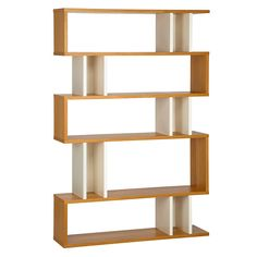 Buy Content by Terence Conran Counterbalance Tall Shelving, Oak/White Online at johnlewis.com