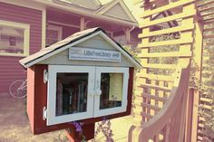 The Crackdown on Little Free Library Book Exchanges - The Atlantic ~ Come on! We need these! Meddlers need not apply!