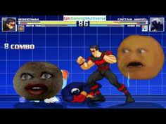 The Annoying Orange And Wonder Man VS Captain Marvel & Rainbow Dash In A MUGEN Match / Battle This video showcases Gameplay of Rainbow Dash From The My Little Pony Friendship Is Magic Series And Captain Marvel The Superhero VS Wonder Man The Superhero And The Annoying Orange In A MUGEN Match / Battle / Fight