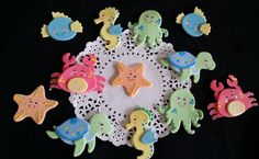 Under the sea Decorations, Under the Sea Party, Under the Sea Baby Shower Girl, Under the Sea Baby, Under the See, Under The Sea Cup cakes