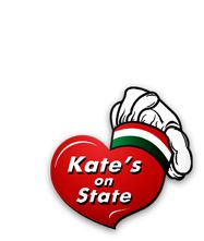 Kate's on State is in the middle of downtown La Crosse and a very delicious place at your convenience!