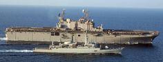 LHA-1 USS Tarawa in the Persian Gulf