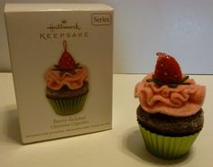 "Hallmark Keepsake Ornament - ""Berry-licious!"" - 2012 - #3 in the Cupcakes Series"