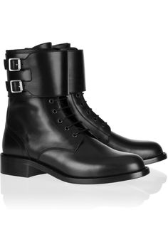 Perfect boots. Saint Laurent|Patti leather army boots