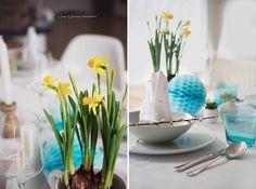 Easter brunch decoration