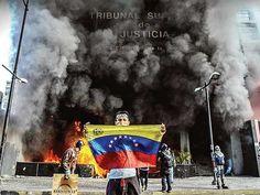 Estallan disturbios en Caracas | Excélsior