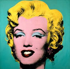 Andy Warhol: Turquoise Marilyn, 1964