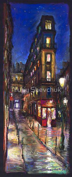 «Paris Street 1» de Yuriy Shevchuk
