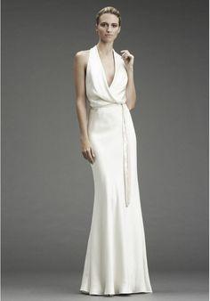 Vestido blanco gala