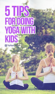 5 Tips for Doing Yoga With Kids