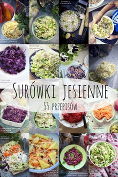 Surówki jesienne - 55 przepisów Baby Food Recipes, Salad Recipes, Diet Recipes, Vegetarian Recipes, Healthy Recipes, What Is For Dinner, Quick Snacks, Healthy Salads, Healthy Baking
