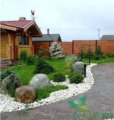 Front yard garden and landscaping design