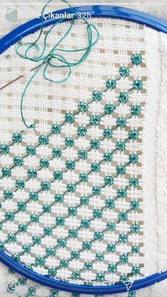 Embroidery is a variety of decorative patterns made of needlework on cloth or other materials. The use of embroidery mainly includes life and art decoration, such as clothing, bedding, stage, and art decoration. Embroidery not only has a long history Diy Embroidery Designs, Hand Embroidery Tutorial, Creative Embroidery, Simple Embroidery, Hand Embroidery Stitches, Embroidery Techniques, Embroidery Art, Silk Ribbon Embroidery, Cross Stitch Embroidery