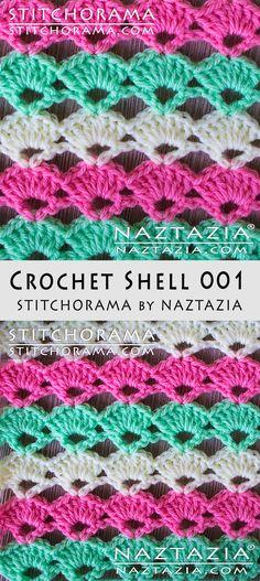 Crochet Shell 001 - Stitchorama by Naztazia