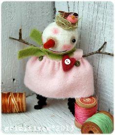 Ginger... by doll artist Kaf Grimm of GRIMITIVES