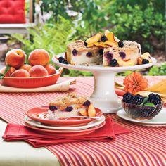13 Best Coffee Cake Recipes: Blackberry-Peach Coffee Cake