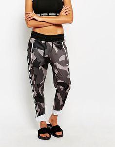 Image 4 - Puma - Pantalon de survêtement à imprimé camouflage - Gris