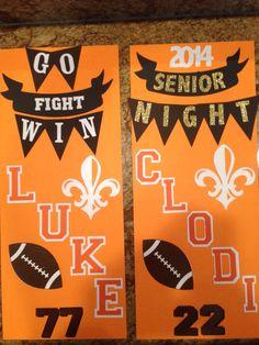 Football locker posters