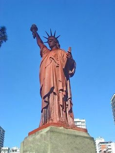 Statue of Liberty in Buenos Aires, Argentina - Statues of Liberty on Waymarking.com