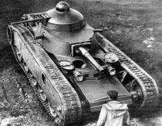 TG (Tank Grotte) during field trials, September 1931