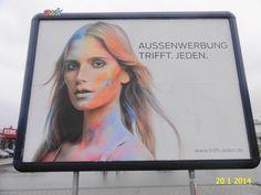 228. - Plakat in Stockach. / 20.01.2014./