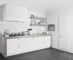 witte keuken grijs blad - Google zoeken