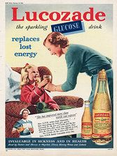 """1950's #Lucozade ad - Image courtesy of The Advertising Archives"""""""