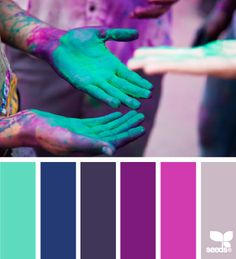 Cool colors…