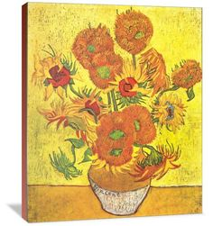 Vase with Fourteen Sunflowers - Author: Vincent van Gogh