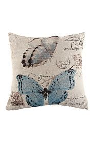 TAPESTRY BUTTERFLY 48X48CM SCATTER CUSHION