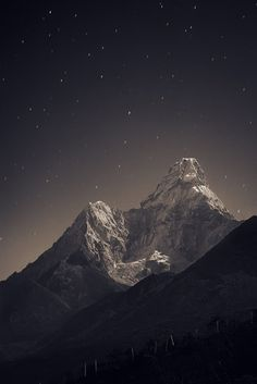 Himalayas mountain range in Asia.   Stunning Places #Places