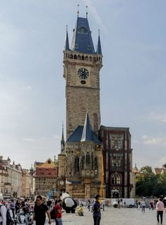 Old Town Hall Tower, Prague, Czechia