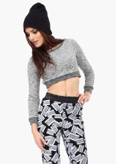 Kendra Cropped Sweatshirt