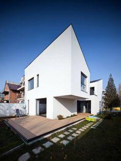 """CN House by Plus Line Design """"Location: Codrii Neamtului 3M street, sector 3, Bucharest, Romania"""" 2012"""