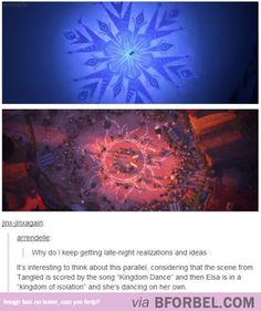 "Ever Noticed This About ""Tangled"" And ""Frozen""?"