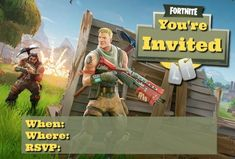 We have put together the biggest and the best list of Fortnite party ideas, printables and freebies. This huge list of Fortnite ideas comes from all over the internet and we will add to it and update it regularly. Birthday Activities, Birthday Party Games, Party Activities, 9th Birthday, Birthday Ideas, Pokemon Birthday, Free Birthday Invitations, Diy Invitations, Invites