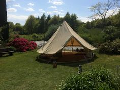 Boutique Camping. Battersea, London. Business. Camping. Summer. Travel. Holiday. Day Out. Family. Retreat. Tent. Go Outdoors. Bell Tent. Hire.