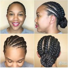 35 Flat Twist Hairstyles - 35 Flat Twist Hairstyles You are in the right place about bridesmaid hair Here we offer you the mos - Hairstyles Bangs, Flat Twist Hairstyles, Great Hairstyles, Summer Hairstyles, Protective Hairstyles, Braided Hairstyles, Hairstyles 2016, Black Hairstyles, Trending Hairstyles
