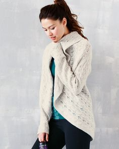 Washable Cashmere Cardigan - $178.00 but OOS