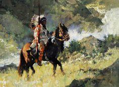 Rushing Water by C. Michael Dudash | Oil | LegacyGallery.com