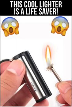Permanent Match Permanent Match ,Gadgets Whether you're going camping, hunting or backpacking around the world it's always smart to carry a few lighters or matches with you. The issues is it gets hard to. Survival Tools, Camping Survival, Camping Hacks, Survival Prepping, Survival Videos, Camping Signs, Camping List, Diy Camping, Camping Ideas