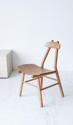 De Jong Co Oak Hiro Chair Spartan