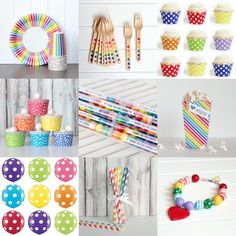 rainbow party supplies tomkat studio