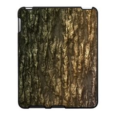 Mossy Bark Camo iPad Case